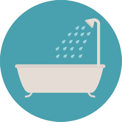 bathroom icons image gallery tub icon