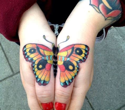Butterfly Knuckle Tattoo | 17 best ideas about knuckle tattoos on pinterest finger