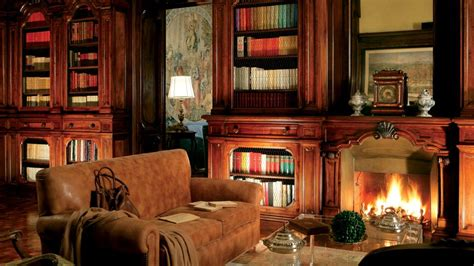 Library Fireplace by The Preppy Yogini Happy Place