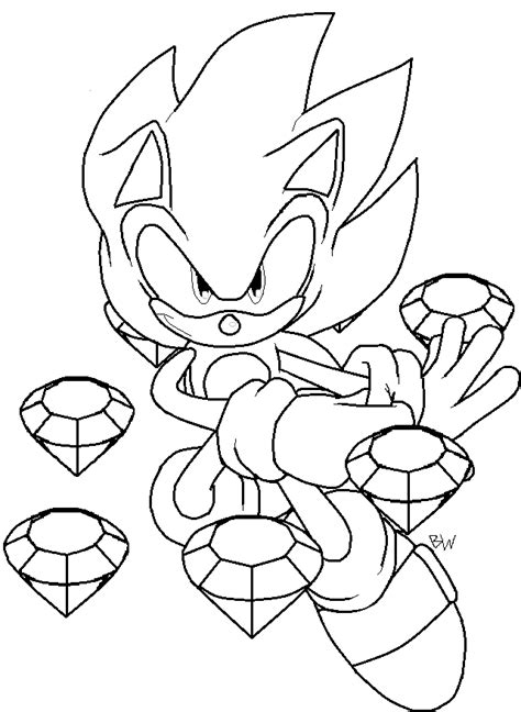 super coloring pages online super sonic coloring pages to download and print for free