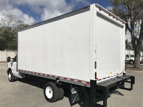 10 Box Truck For Sale - 2016 ford e450 trucks box trucks for sale 10 used