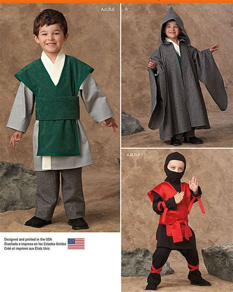 ninja costume pattern simplicity 111 best children s sewing patterns images on pinterest