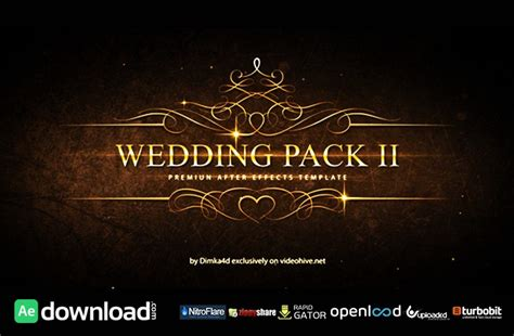 Revostock After Effects Templates Free by 15 Top Wedding After Effects Templates Free