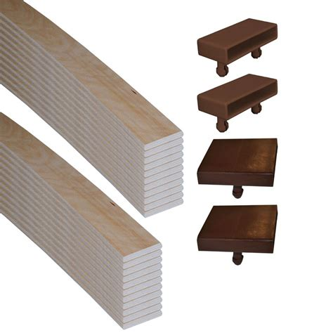 wooden bed slats replacement 53mm sprung bed slats and holders kit