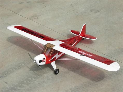 piper cub  plans aerofred   model airplane plans