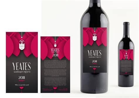 designcrowd white label 113 elegant upmarket restaurant label designs for a