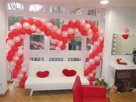 cuanto cuesta una decoracion con globos el mundo de ende san valentin en la peluqueria