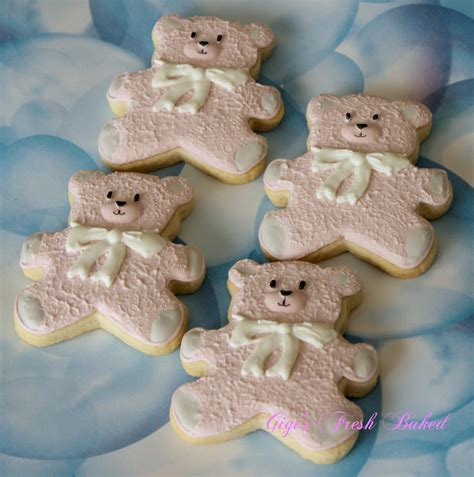 Pinterest Decorate Your Home pink teddy bear cookies cookie connection