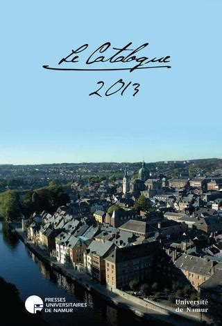 librerie universitarie trento presses universitaires de namur le catalogue 2013 by