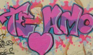 imagenes de te extraño en graffiti graffitis de te extra 241 o arte con graffiti