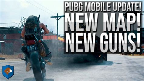 pubg mobile updates pubg mobile update new map new guns