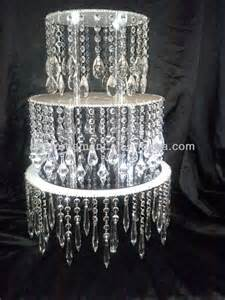Wholesale Crystal Chandeliers Acrylic Crystal Chandelier Wedding Cake Stand View