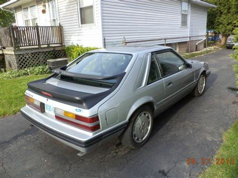 mustang svo for sale canada buy used 1986 ford mustang svo hatchback 2 door 2 3l in