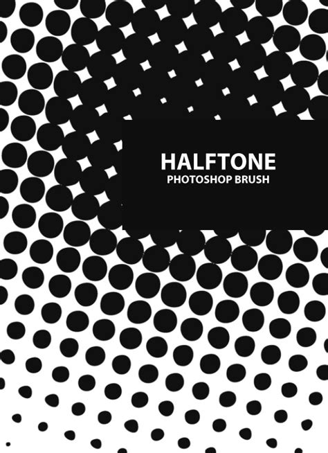 download halftone pattern photoshop a free halftone photoshop brush set creative nerds