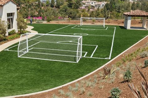 Barier The Football House by Wouldn T You To A Soccer Field At Your House