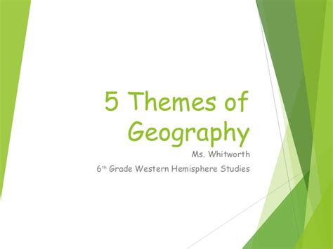 are the five themes of geography useful five themes of geography 08