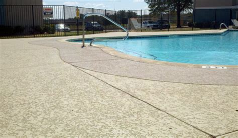 beautiful cool deck coating  concrete pool deck