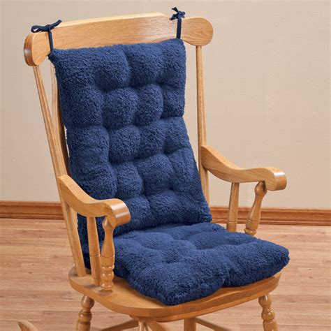 rocking chair pad set sherpa rocking chair cushion set rocking chair pads