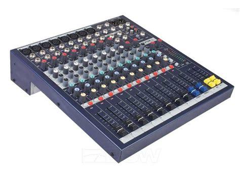 Audio Mixer Monitor Audio Em8 8channel soundcraft epm6