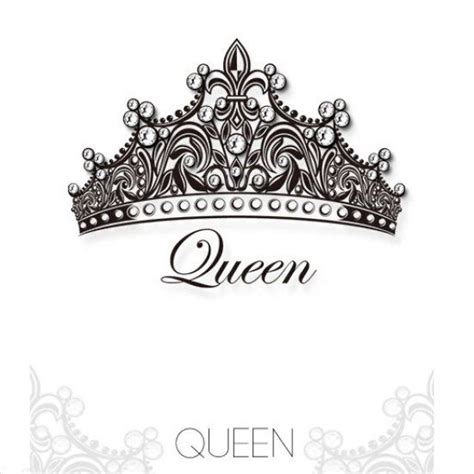 queen crowns tattoos 16 crown designs