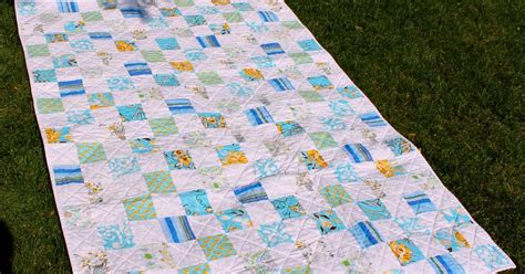 And White Patchwork Quilt - gold shoe blue and white patchwork quilt