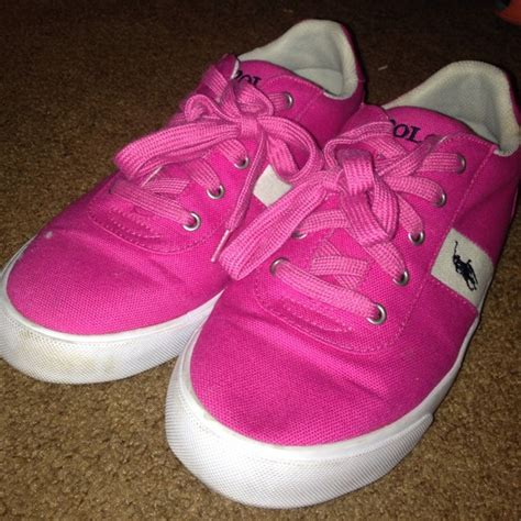55 polo by ralph shoes pink polo ralph