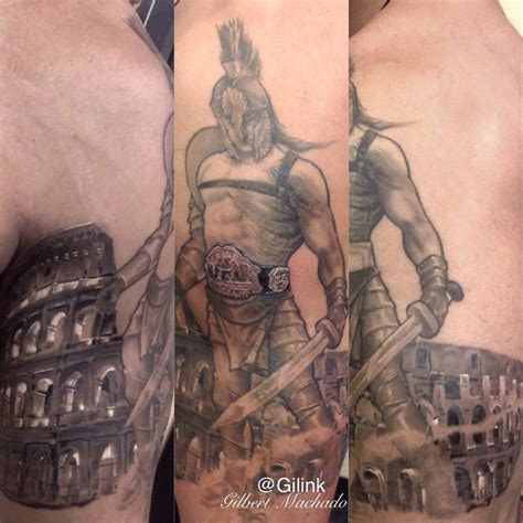 ufc tattoos ufc robbie lawler tattoos black and grey gray