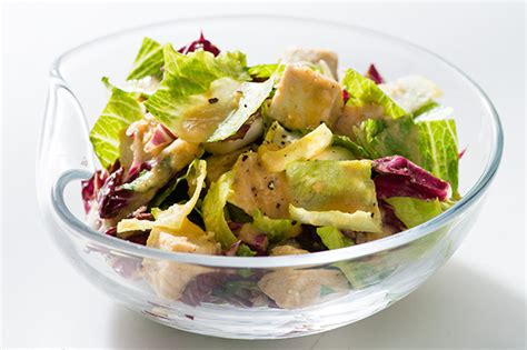 epicurious roasted root vegetables chicken salad with roasted root vegetable vinaigrette