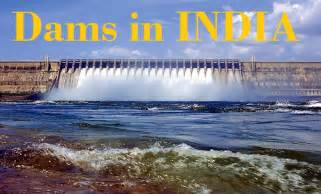 list of dams and barrages in india general awareness for