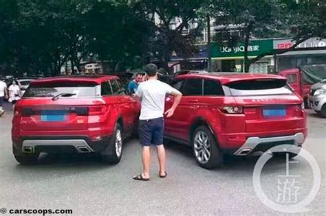land wind china kopie landwind x7 vs range rover evoque unfall