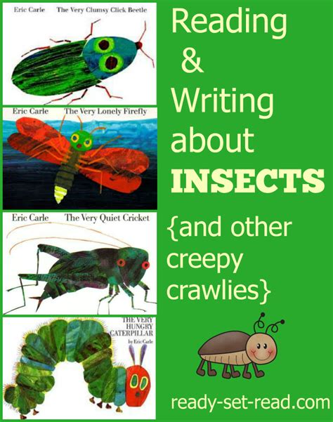 Crle Essay by Reading And Writing Informational And Narrative Text With Eric Carle Books About Insects About