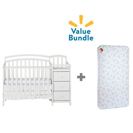 crib and changing table bundle on me mini crib changing table combo mattress