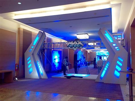 event entrance design max steel launch event 2013 on behance