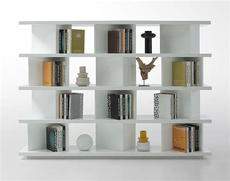 white contemporary bookcase contemporary bookcase living room gt gt modern shelves
