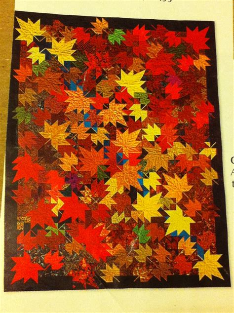 autumn leaves quilt patternplus 7199 home