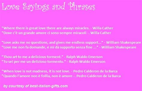 italian tattoo quotes about love italian sayings translated romantic phrases sayings and