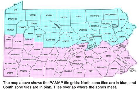 pennsylvania state pennsylvania gis map