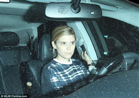 Chappaquiddick Producers Kate Mara Looks Flawless And Makeup Free As She Leaves A Vegan Hotspot In Los Angeles Daily
