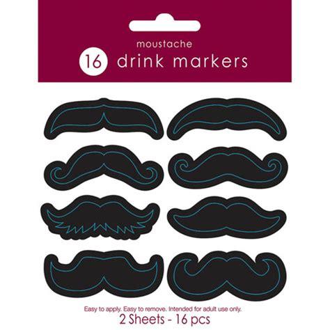 Moustache Drink mustache drink stickers ziggos