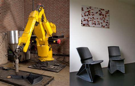 An With Dirk Vander Kooij Dirk Der Kooij Creates His Modern Endless Chairs From Recycled Refrigerators Dirk Der