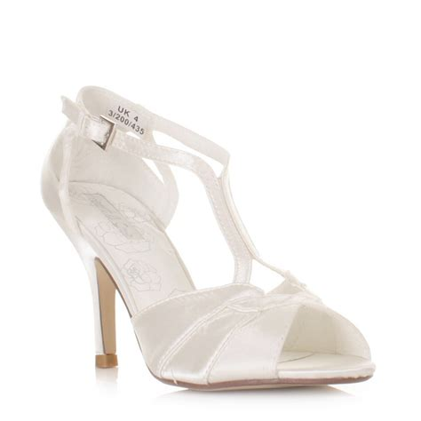 Strappy Ivory Bridal Shoes ivory strappy sandals with heel gold high heel sandals
