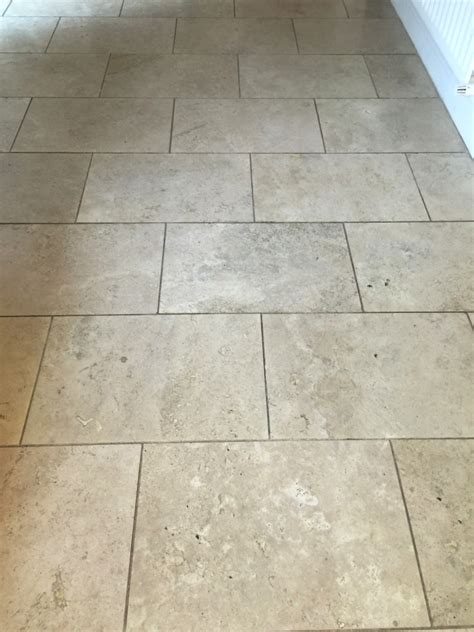 travertine kitchen floor restoring travertine kitchen tiles in east byfleet west
