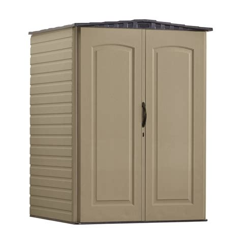 Rubber Made Storage Sheds by Shop Rubbermaid Roughneck Gable Storage Shed Common 5 Ft X 4 Ft Actual Interior Dimensions 4