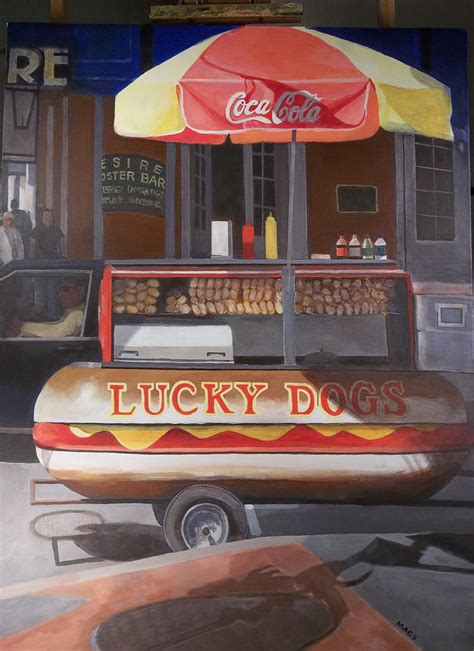 lucky new orleans new orleans lucky painting by walt maes