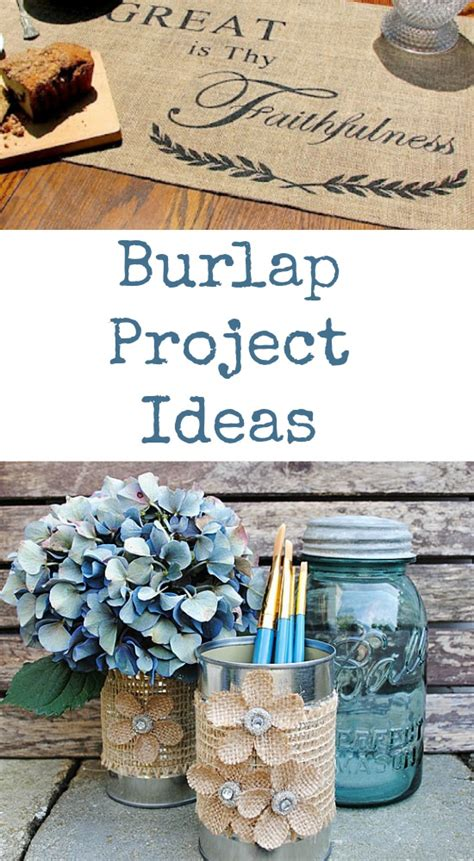 craft projects using burlap burlap projects 20 burlap burlap