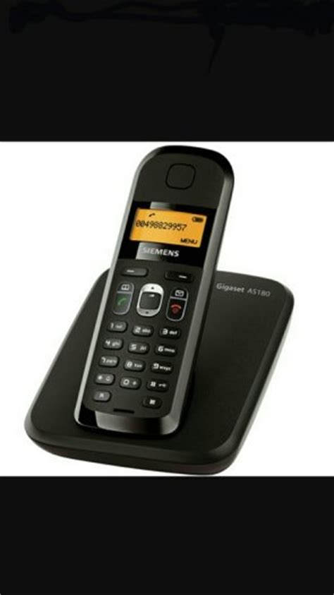 siemens gigaset as180 cordless home phone for sale in