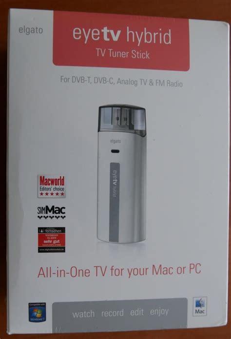 Elgato Eyetv Hybrid Dvb T2 Tv Tuner For Mac Pc Elgato Eyetv Hybrid Tv Tuner Dvb T Dvb C Analog Tv Fm Radio Mac Pc Ebay