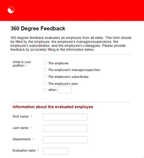How Human Resources Departments Can Benefit From Online Forms Part 1 360 Feedback Template