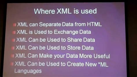 xml learning tutorial pdf xml tutorial for beginners video learn xml basics