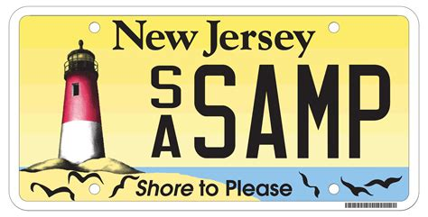 Nj Vanity Plates who likes going to the gaybros